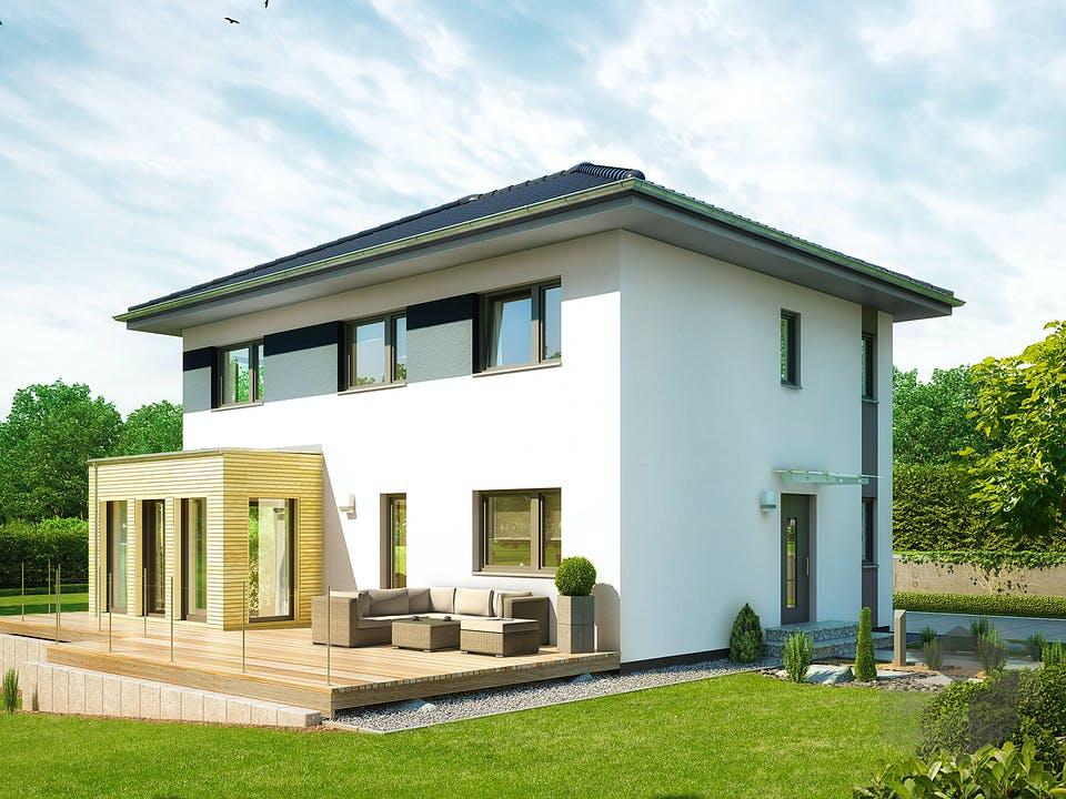 Villa 142 von Hanse Haus Außenansicht