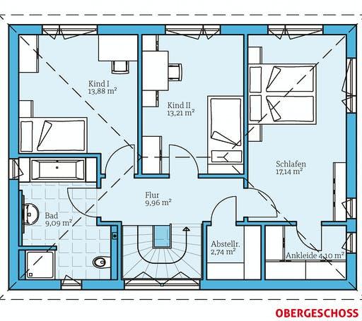 Hanse - Villa 142 Floorplan 2