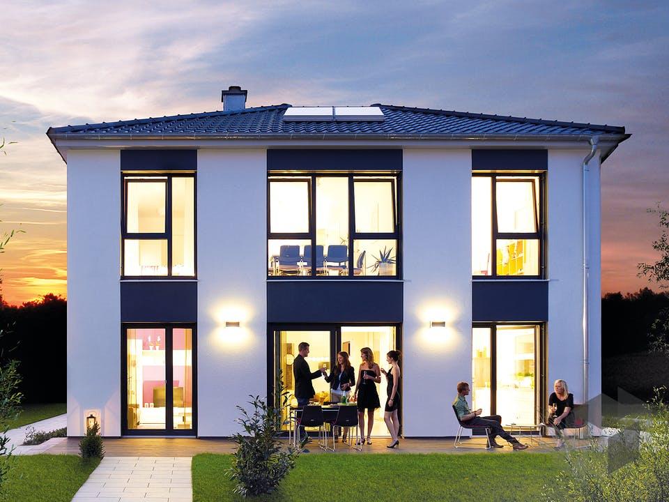 Villa 165 von Hanse Haus Außenansicht