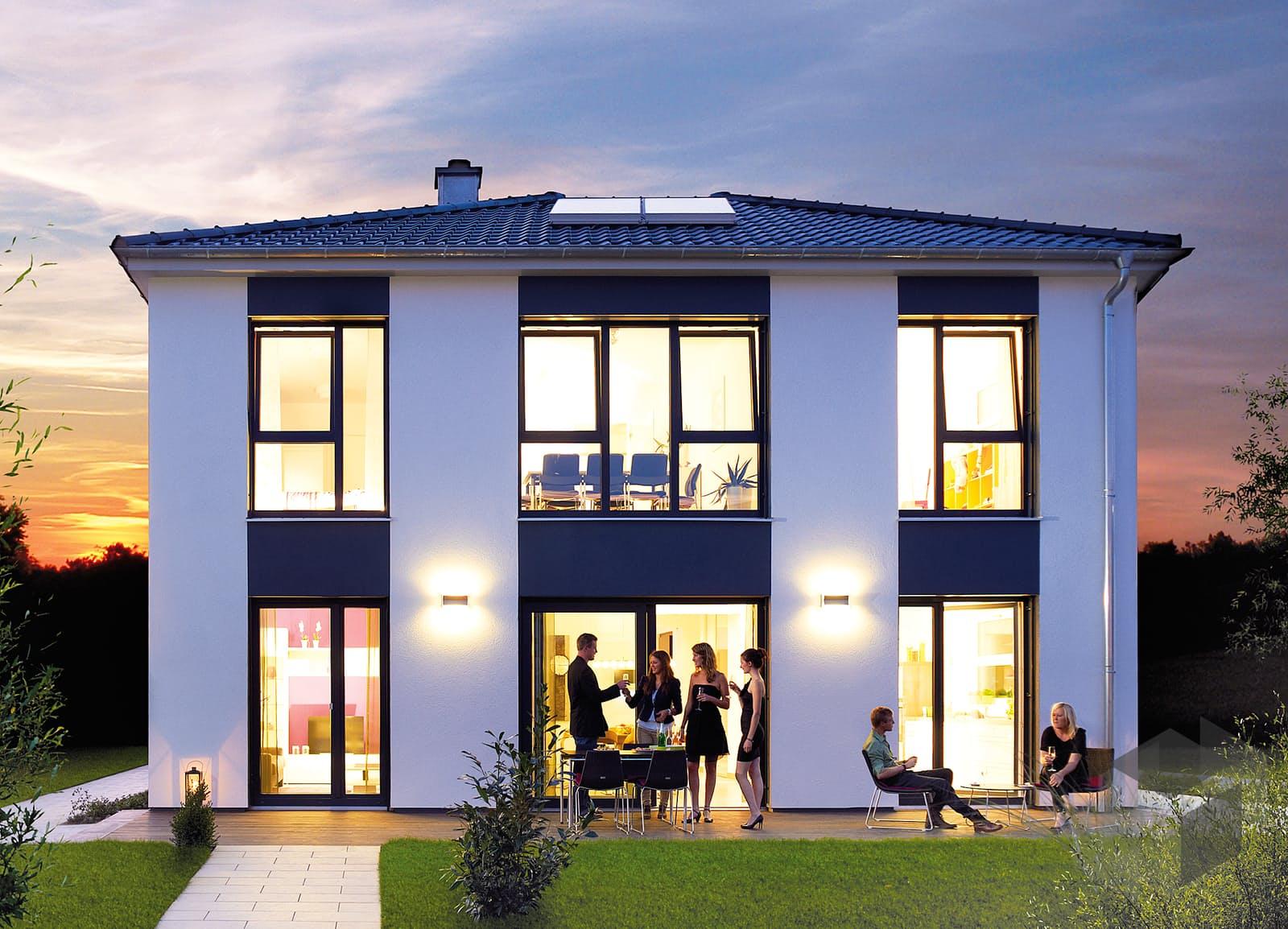 villa 165 von hanse haus komplette daten bersicht. Black Bedroom Furniture Sets. Home Design Ideas