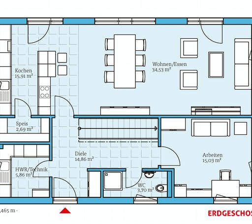 Hanse - Villa 183 Floorplan 1
