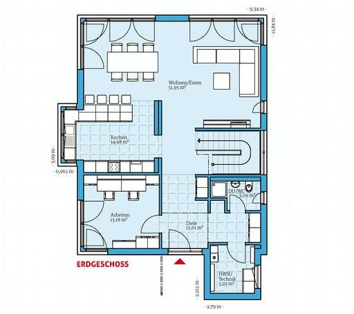 Hanse - Villa 189 Floorplan 1
