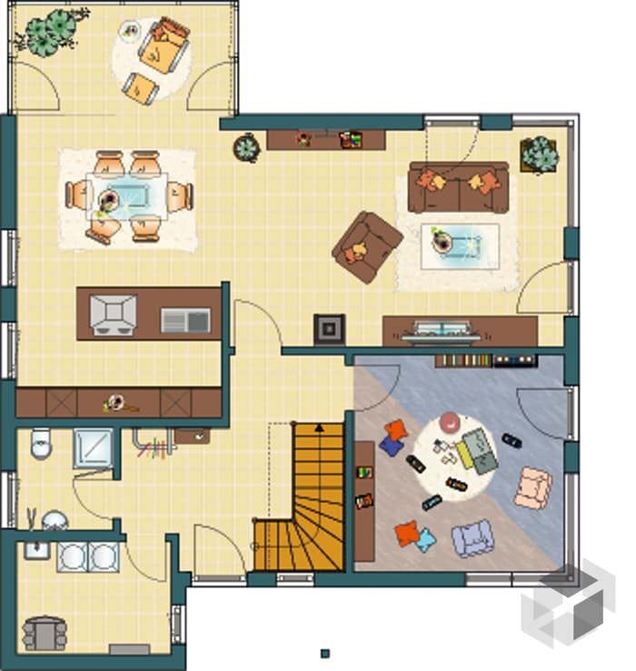 Fingerhaus vio grundriss  VIO 450 - Musterhaus Mannheim von FingerHaus | komplette ...