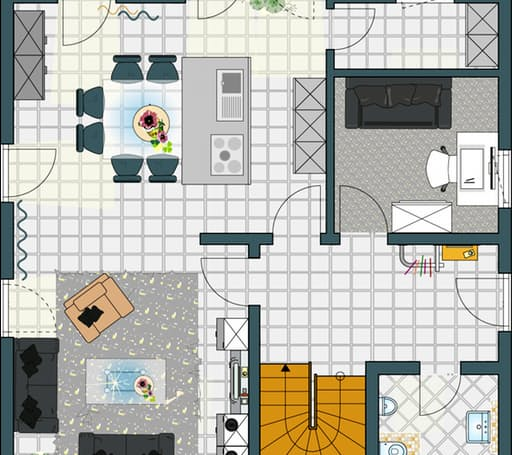 VIO - Musterhaus Gründau Floorplan 1