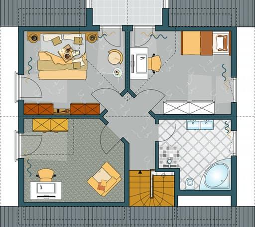 VIO - Musterhaus Gründau Floorplan 2