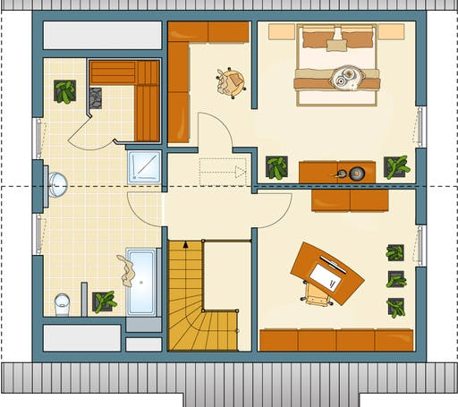VIO mit Pool Floorplan 2