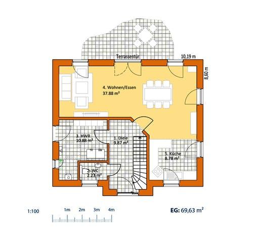 Virtus Friese V 140 Floorplan 1