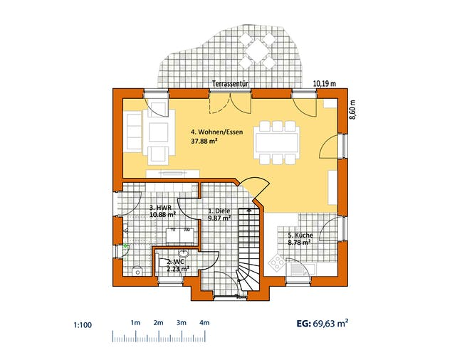Virtus Friese V 140 Floorplan 1