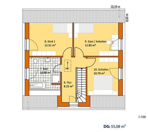 Virtus Friese V 140 Floorplan 2
