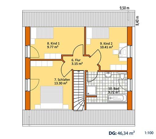 Virtus Klassiker V 120 Floorplan 2
