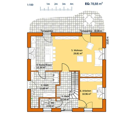 Virtus Toskana V 140 Floorplan 1
