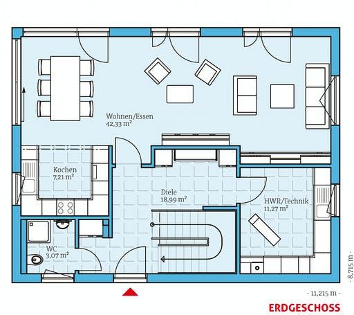 Hanse - Vita 165 Floorplan 1
