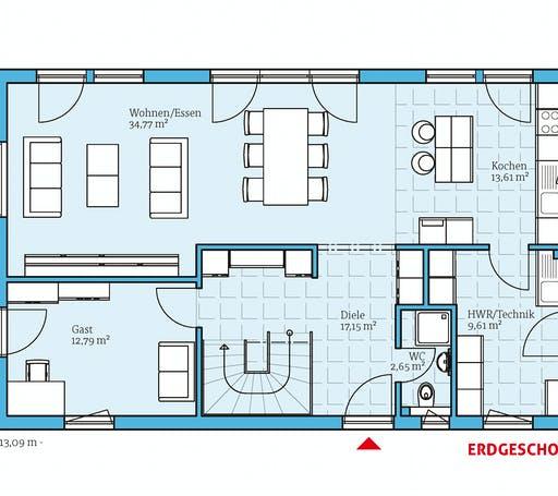 Hanse - Vita 180 Floorplan 1