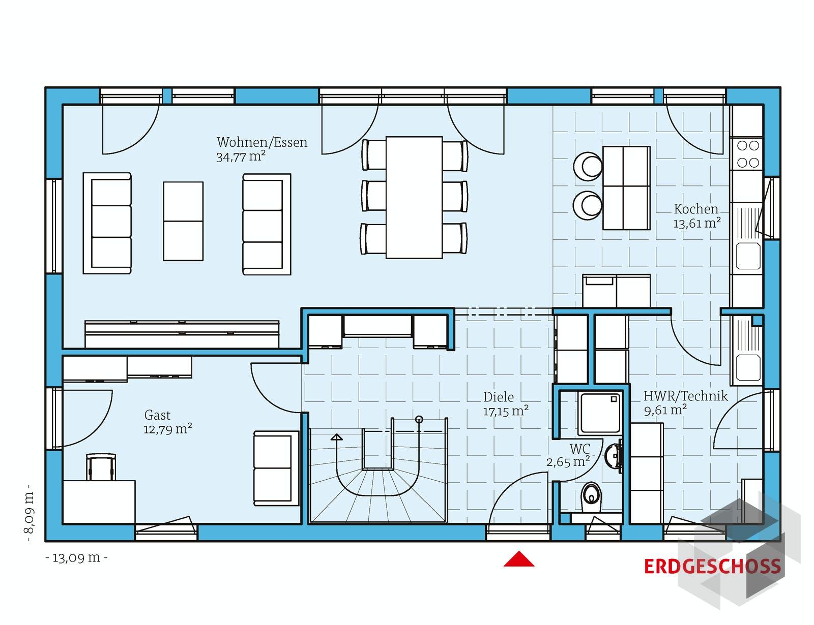 vita 180 von hanse haus. Black Bedroom Furniture Sets. Home Design Ideas