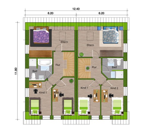 WBI - DHH Stadthaus 110 Floorplan 2