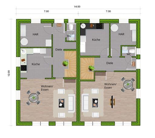 WBI - DHH Stadthaus 130 Floorplan 1
