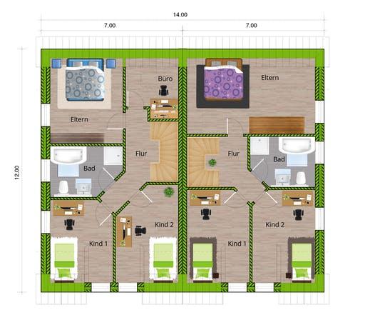 WBI - DHH Stadthaus 130 Floorplan 2