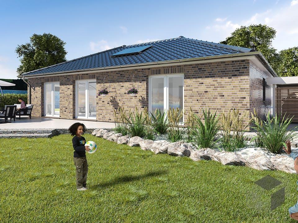 Bungalow 105 von WBI Hausbau Außenansicht