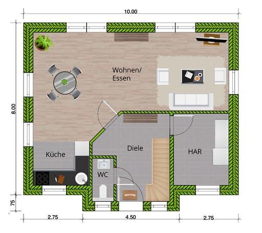 WBI - EFH Friesenhaus 125 Floorplan 1