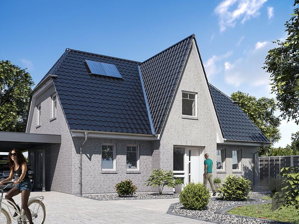 Friesenhaus 160 von WBI Hausbau Außenansicht