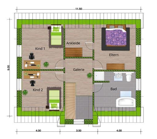 WBI - EFH Friesenhaus 160 Floorplan 2