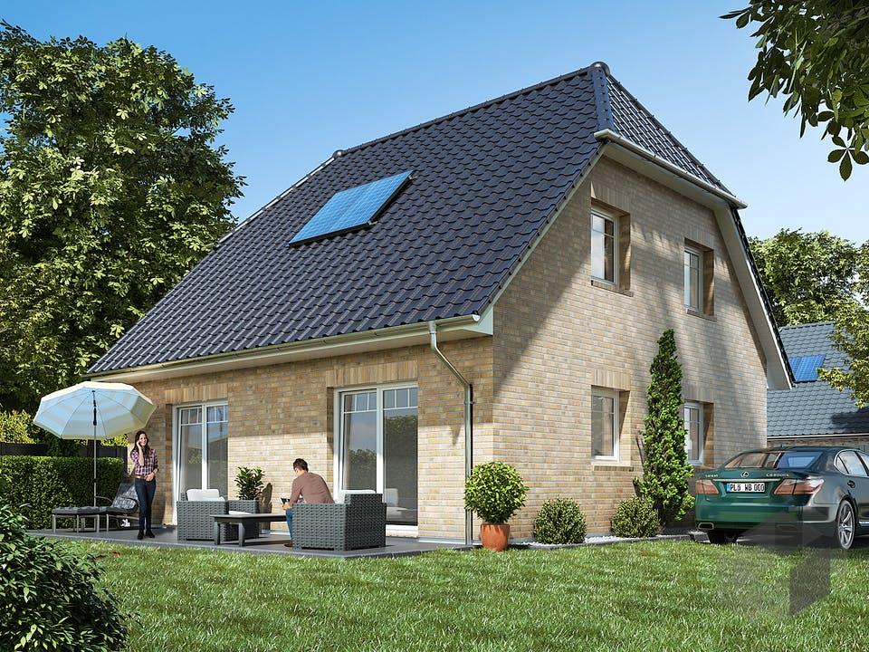 Landhaus 115 von WBI Hausbau Außenansicht