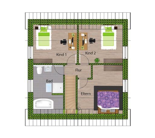 WBI - EFH Landhaus 115 Floorplan 2