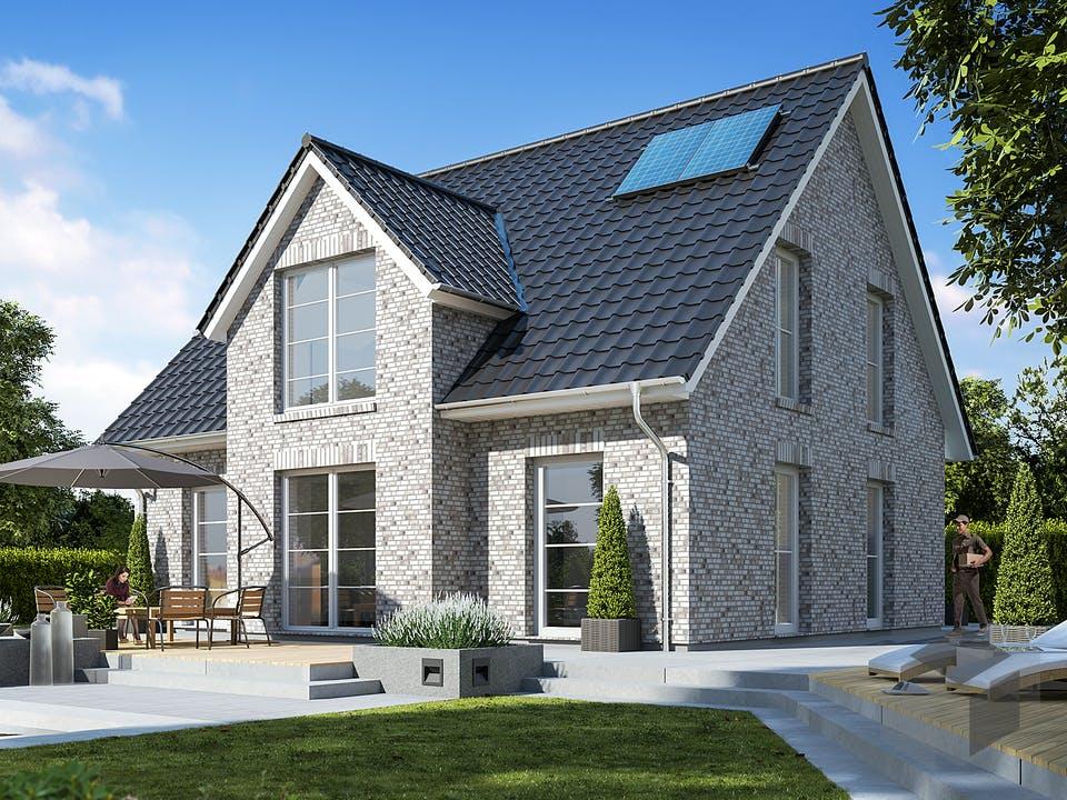 Landhaus 140 von WBI Hausbau Außenansicht