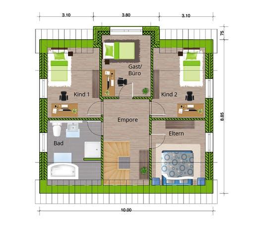 WBI - EFH Landhaus 140 Floorplan 2