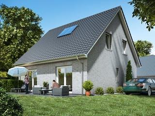 Stadthaus 120 von WBI Hausbau Außenansicht 1