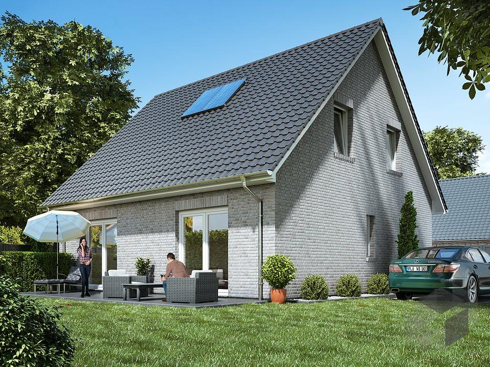 Stadthaus 120 von WBI Hausbau Außenansicht
