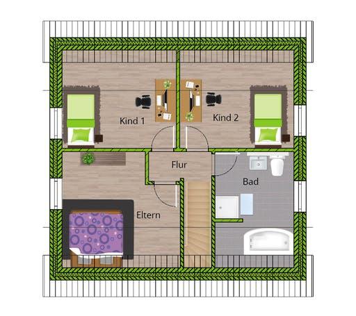 WBI - EFH Stadthaus 120 Floorplan 2