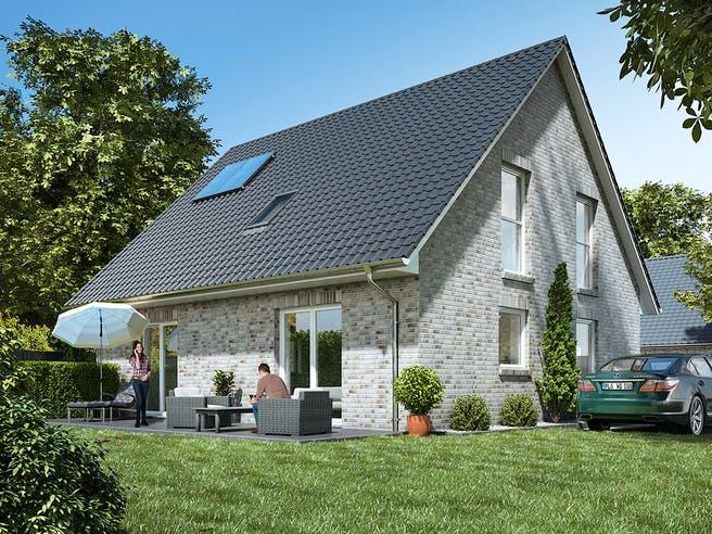 Stadthaus 150 von WBI Hausbau Außenansicht 1