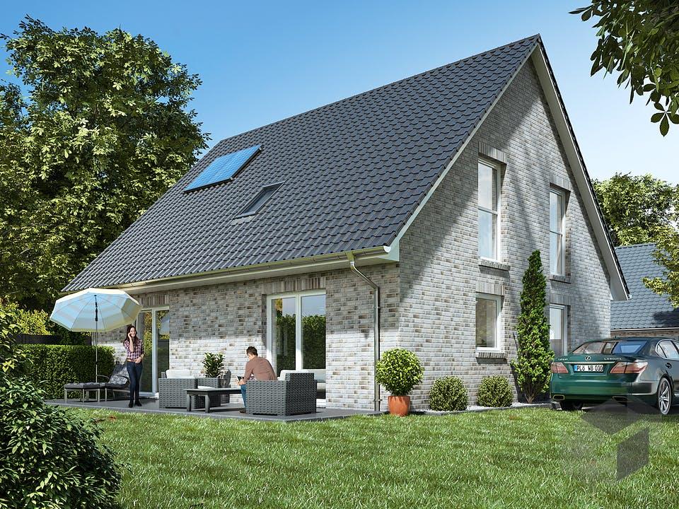 Stadthaus 150 von WBI Hausbau Außenansicht
