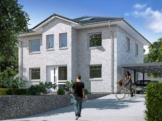 Stadtvilla 120 von WBI Hausbau Außenansicht 1