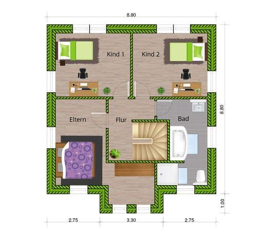 WBI - EFH Stadtvilla 120 Floorplan 2