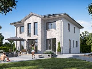 Stadtvilla 150 von WBI Hausbau Außenansicht 1