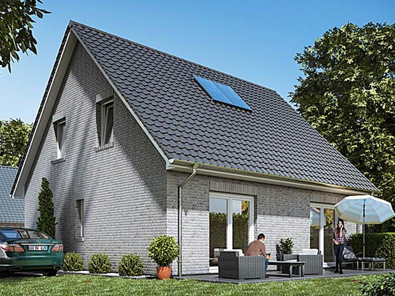 Massives Satteldachhaus von WBI Hausbau