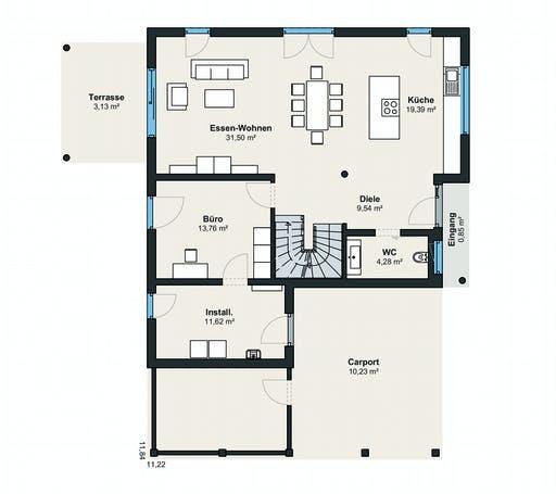 Weberhaus Generation5.5 200 Floorplan 1