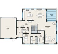 Kundenhaus 18 - Individuelle Planung Grundriss