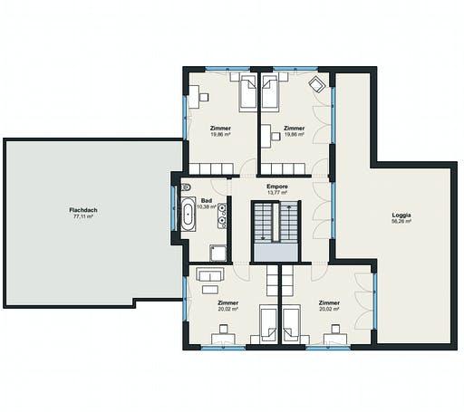 Weberhaus Kundenhaus 18 Floorplan 2