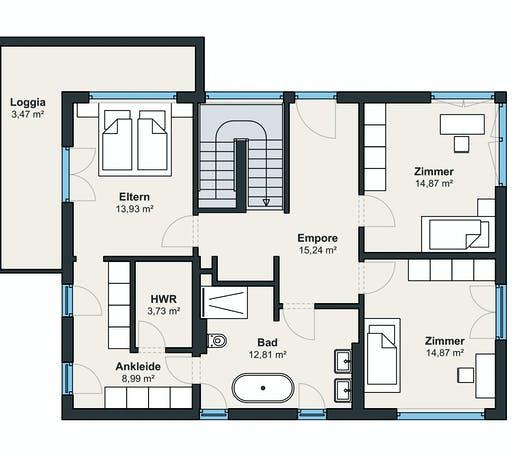 Weberhaus Kundenhaus 19 Floorplan 2