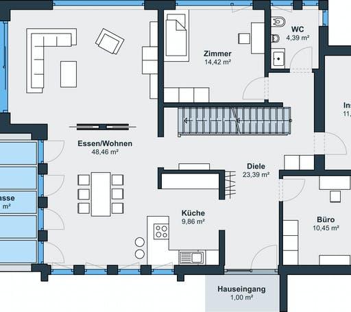 Weberhaus Ausstellungshaus Fellbach Floorplan 1