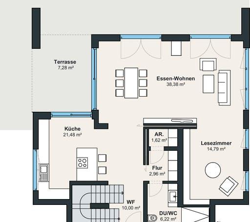 Weberhaus Ausstellungshaus Rheinau-Linx – Jubiläumshaus Floorplan1
