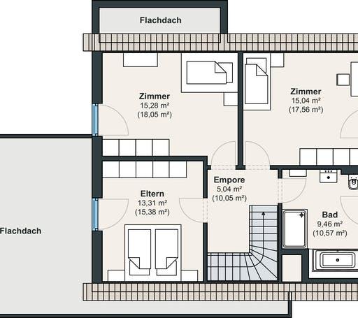 Weberhaus Ausstellungshaus Wenden-Hünsborn Generation5.5 110 Floorplan 2