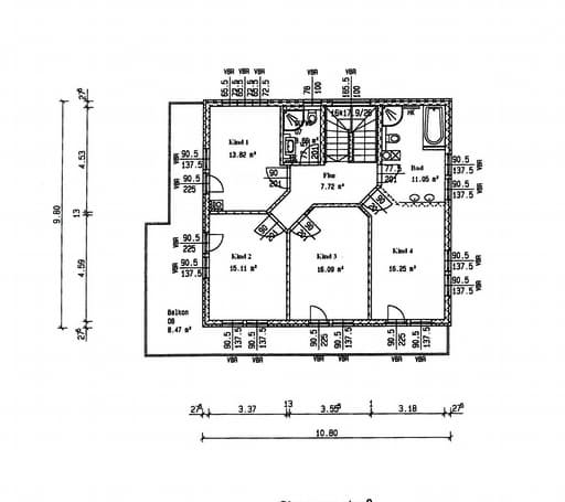 Wei ensee kfw55 effizinezhaus inactive von isartaler for Floor plans for 160 000