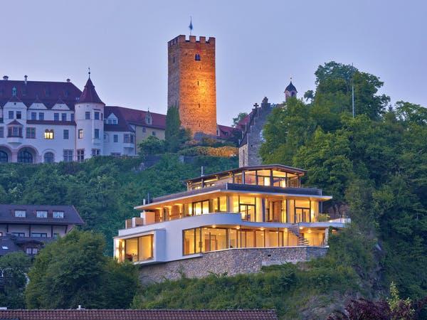 Villa auf Berg von Baufritz