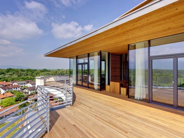 Dachterrasse mit toller Aussicht