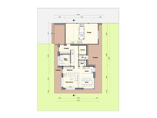 Haus BT von Weizenegger Grundriss 1
