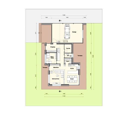 Weizenegger - Haus BT Floorplan 1